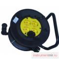 Удлинитель У10-010- УХС-4-25м 4-х  гнездный  с зк на кабельной катушке (ПВС 3х1)