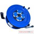 Удлинитель стальной УС 4-50 ПВС 3х2,5  IP44 (4 роз, стальной барабан) 16-010