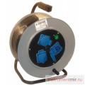 Удлинитель стальной УС 4-50 КГ 3х1,5  IP44 (4 роз, стальной барабан) 16-010
