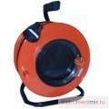 Удлинитель 1х40м (ПВС 2х0,75) на кабельной катушке с выносной розеткой