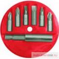 Набор бит   6 шт с магнитодержателем FIT (57621)