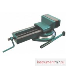 Тиски станочные поворотные 125 мм  7200-3210  (Глазов)
