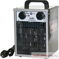 Пушка тепловая электрическая ERGUS QE-2000E (220В,65/1300/2000Вт,185куб.м/час,термостат)/772-227
