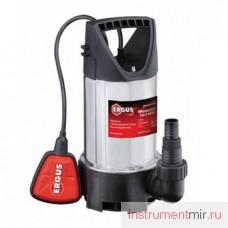 Дренажный насос  QE ( Ergus ) Drenaggio  750 F (750 Вт, 12000 л/ч, для грязной, 7,5 м, 5кг)